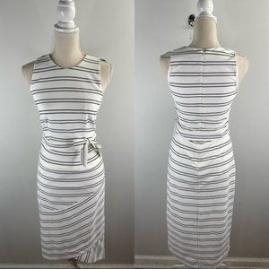 Hutch White Black Bodycon Dress Size S